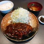 とんかつ大町 - 料理写真:ハンバーグ定食