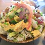 大鯛 - おすすめランチの海鮮たたき丼