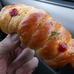 パンの風 - ウインナーロール 200円