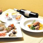 イタリア厨房 KUNISHIMA - ディナーBセット