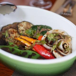 フォリオリーナ・デッラ・ポルタ・フォルトゥーナ - 料理写真:夏野菜の炭焼き