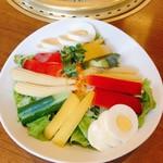 味蔵天国 - 野菜もね♪サラダ