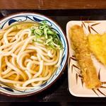 丸亀製麺 - ひやかけ・ちく天・きす天