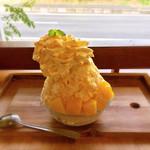 カフェ メリメロ - 料理写真:マンゴーミルクエスプーマ