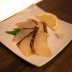 純米酒専門YATA - 鯛の炙り冷燻
