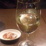 ラ・コートドール - 白ワイン&からすみ