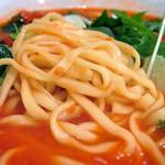 トロケの台所 - オプションの中太平打ち麺(リングイネ)