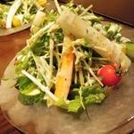 Toshi - サラダ・・・美味しい!!