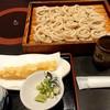 京そば処 志乃崎 - 料理写真:ジャンボ天ざる(1380円税込)