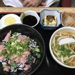 新大正庵 - マグロ丼定食