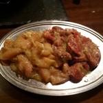 二の鉄 - 正肉(鶏)・カシラ、各2