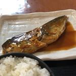 焼魚食堂 魚角 - サバの味噌が少し甘い