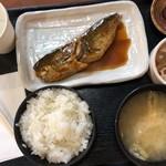 焼魚食堂 魚角 - サバ味噌定食 650円