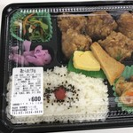 焼魚食堂 魚角 - 鳥からあげ弁当600円