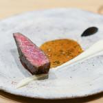 LURRA° - ドライエイジジャージー牛、発酵ポテトと黒にんにく