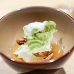 LURRA° - 焼きおにぎり茶漬け、燻製穴子と木の芽