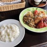京口屋珈琲館 - 料理写真:Bランチ 850円 珈琲セット 150円