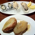 gigas Oyster Spot Bar - 玉ねぎのロースト