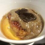 鮨 肉 酒肴 志 - 茶碗蒸しアップ ウマい
