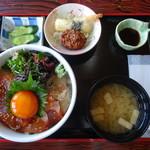 ドライブイン汐風 - 料理写真:いとひら丼 1500円