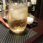 鮨 肉 酒肴 志 - ジンジャーエール