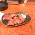 鳥菊 - 白レバの丸焼き