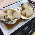 名代茶屋 永吉 - からくりめし  最初に大あさりを食べる
