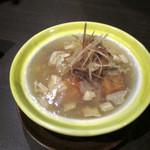 うしのほね - 海老芋の湯葉あんかけ