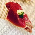 江戸長寿司本店 - 鰹の炙り