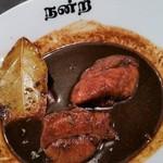 ichimarurokusausuindhian - アップ。辛いといえば、辛いのですが、辛さを突き抜けた美味しさがあります。