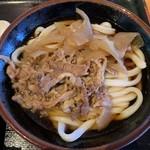 浜心うどん - 料理写真:肉ぶっかけうどん(冷)