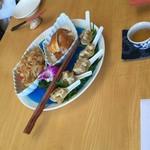 中国精進料理 凛林 - 前菜3種の冷菜
