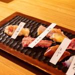とりやき oniya - 希少部位盛り合わせ