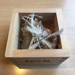 個室居酒屋 肉和食 肉仙 - 料理写真:お通し(牛肉豆腐)
