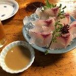 113397461 - 鯉のあらいを酢味噌で。