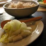 ohanaya - ご飯とお漬物