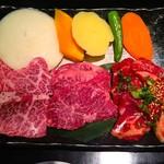 11340986 - 特選ランチ1800円のお肉(^O^)