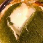茨城地産地消の店 あんこう鍋×常陸牛 全席個室 もんどころ - 和風濃厚 抹茶のパンナコッタはやわやわさとミルキーさが絶妙!
