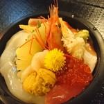 ふじ鮨 - 料理写真:生ちらし¥2180のタイプ