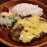 びっくりドンキー - チーズバーグディッシュ(300g) 1178円