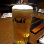 しまだや - キンキンに冷えた生ビール