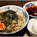 タナカタロウ - 料理写真:冷し肉そば+味玉 880+100円 スタミナ付きます!