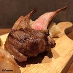 肉バルサンダー - 骨付き仔羊