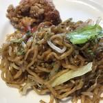 四季菜 - 料理写真:◎唐揚げ 焼きそば〇