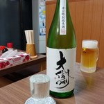 鳥源 - 大信州 辛口特別純米 700円