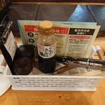 七厘村 - 調味料たち