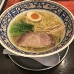 中村屋 - らーめん 塩(真空平打麺)