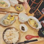 中央食堂・さんぼう - 盛り豆腐精進あんかけ 1300円