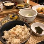 中央食堂・さんぼう - 大豆もたっぷりご飯ふんわり
