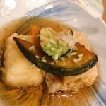 中央食堂・さんぼう - この揚げ出し豆腐が大好き!